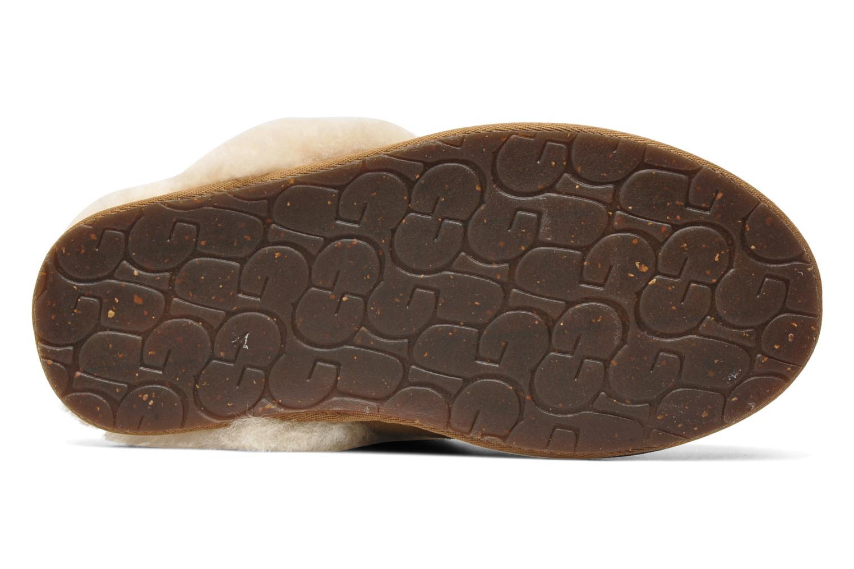 Pantoffels UGG Scuffette II Bruin boven