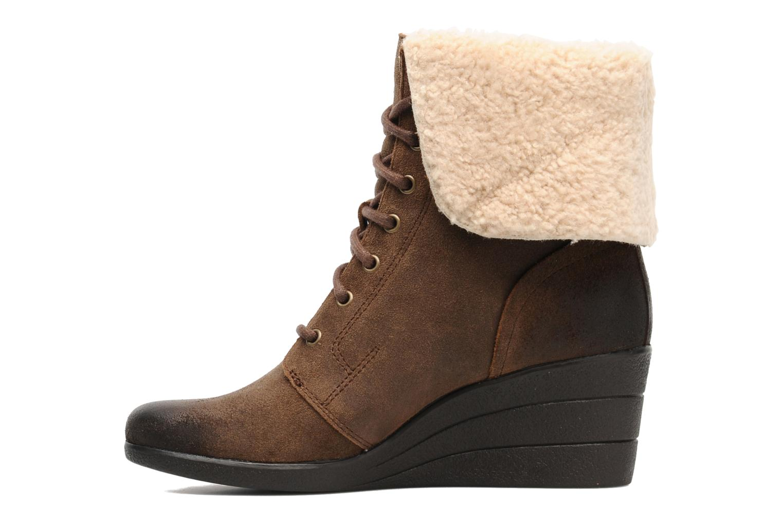 Bottines et boots UGG Zea Marron vue face