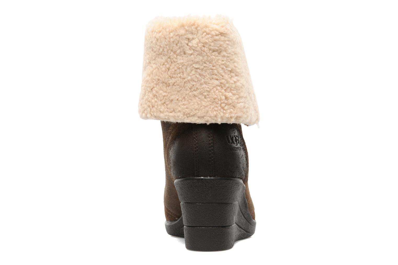 Bottines et boots UGG Zea Marron vue droite