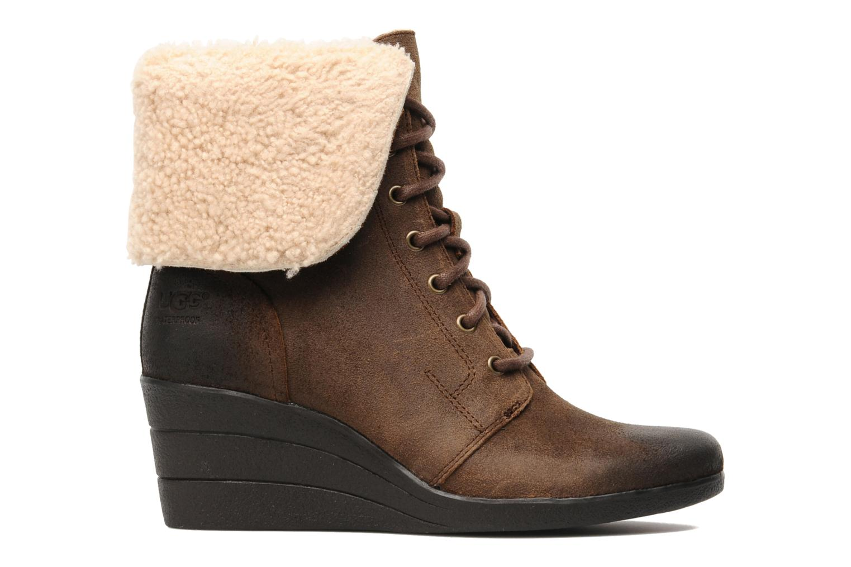 Bottines et boots UGG Zea Marron vue derrière