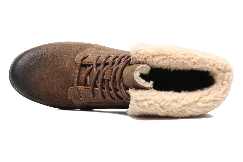 Bottines et boots UGG Zea Marron vue gauche