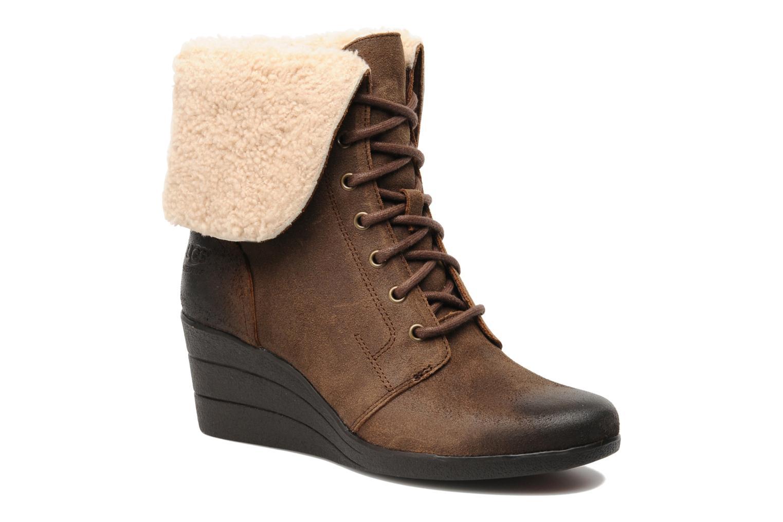Bottines et boots UGG Zea Marron vue détail/paire