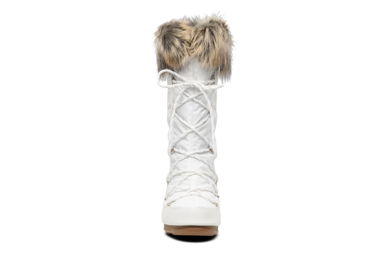 Stiefel Moon Boot Monaco weiß schuhe getragen