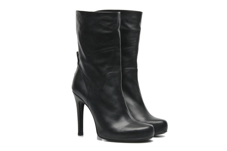 Bottines et boots Free Lance Ferley 7 Mini Botte Noir vue 3/4
