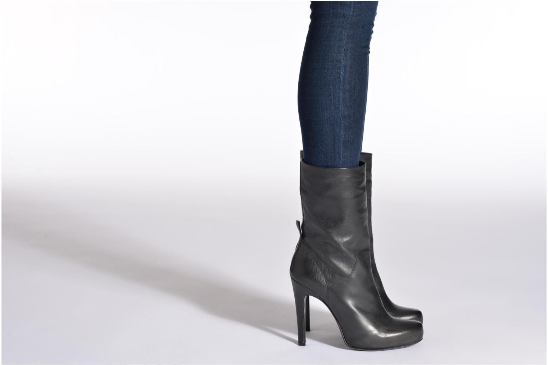 Stiefeletten & Boots Free Lance Ferley 7 Mini Botte schwarz ansicht von unten / tasche getragen