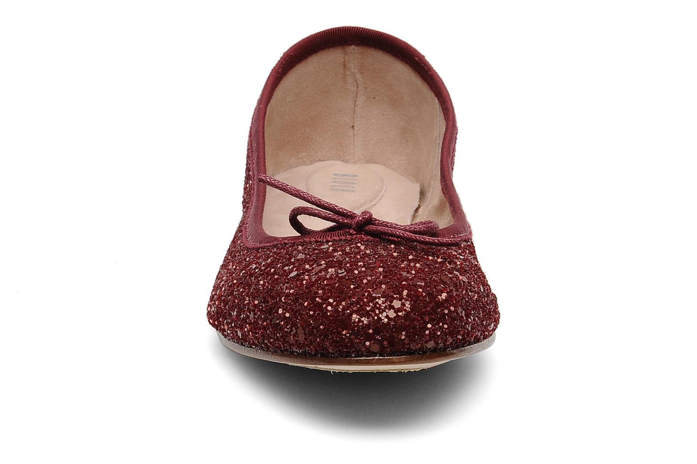 Ballerines Bloch Eloise Bordeaux vue portées chaussures