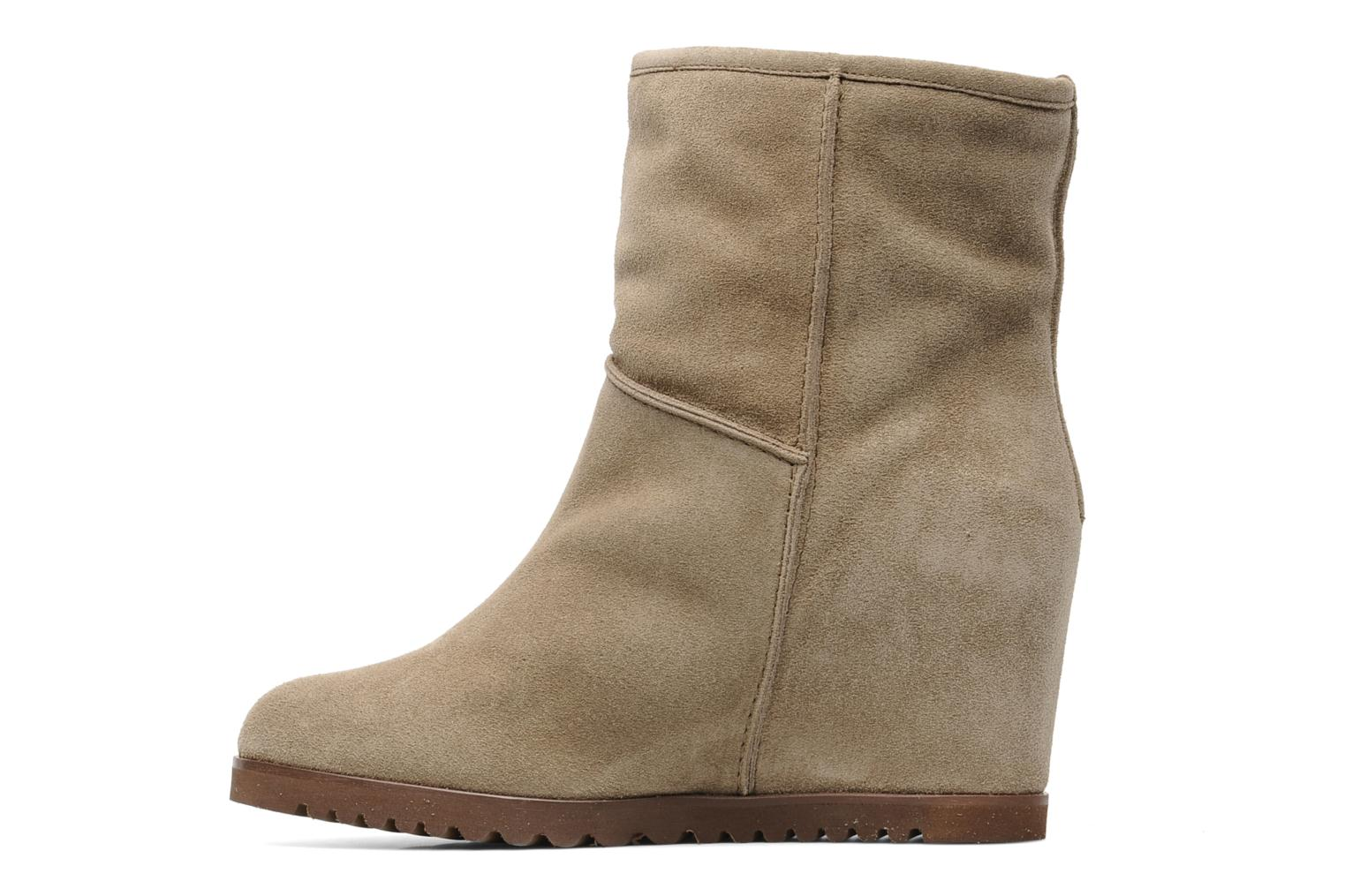 Ankle boots Fabio Rusconi Marta Beige front view
