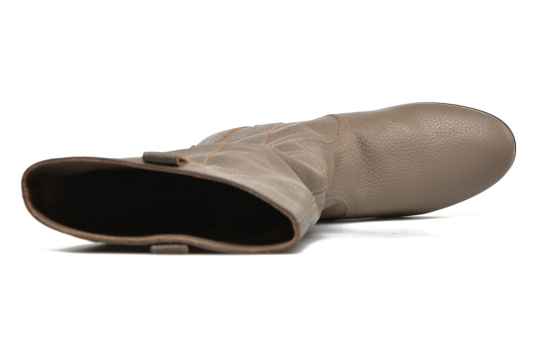 Stiefel Fabio Rusconi Isabella beige ansicht von links
