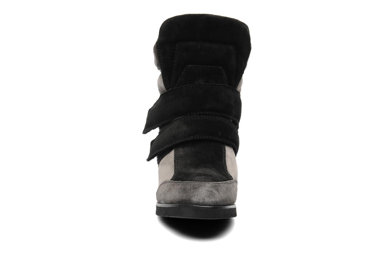 Baskets Fabio Rusconi Tina Gris vue portées chaussures