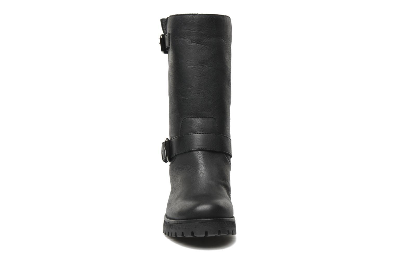 Bottines et boots U.S Polo Assn. Flavia Leather Noir vue portées chaussures