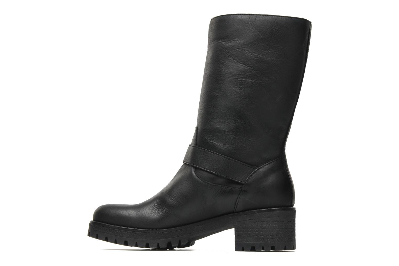 Bottines et boots U.S Polo Assn. Flavia Leather Noir vue face