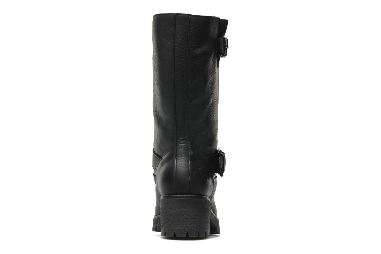 Flavia Leather Black