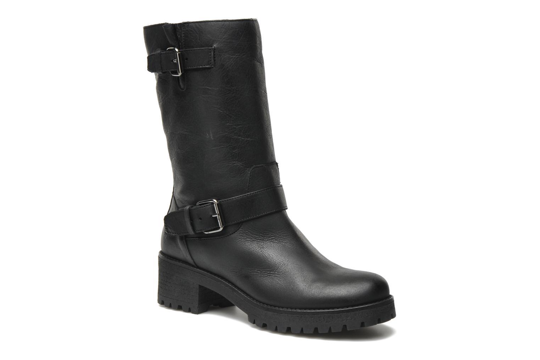 Bottines et boots U.S Polo Assn. Flavia Leather Noir vue détail/paire