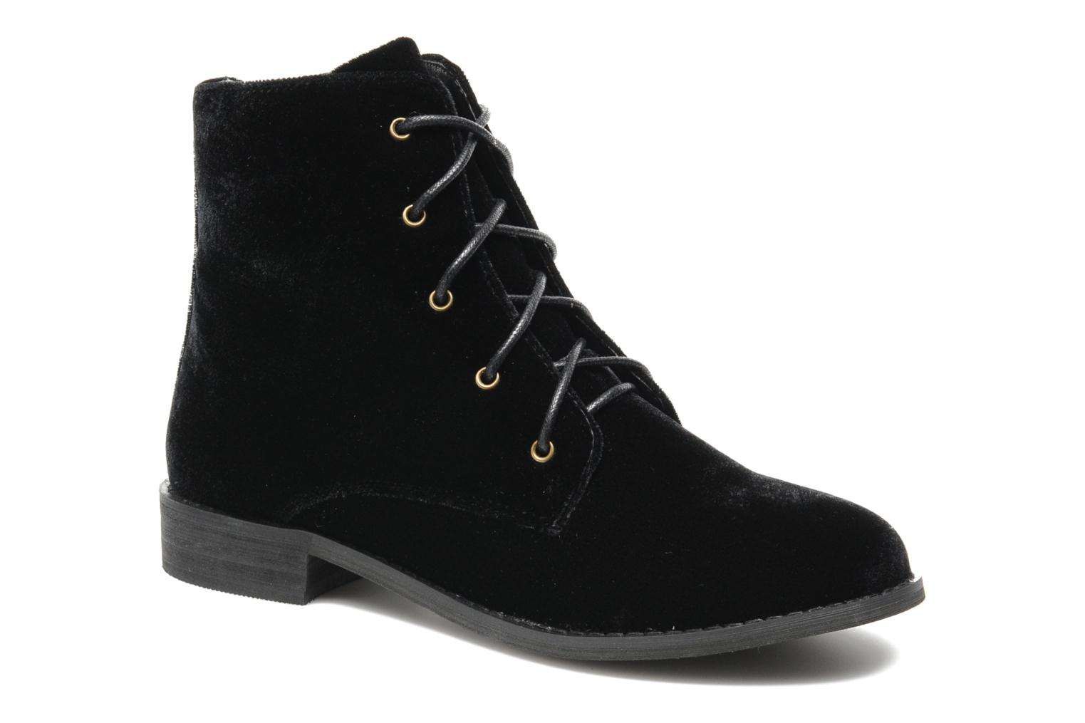 Ankle boots Shellys London Proskar Black detailed view/ Pair view