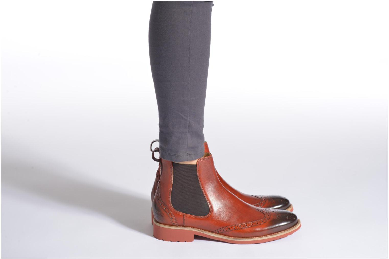 Stiefeletten & Boots Melvin & Hamilton Amelie 5 braun ansicht von unten / tasche getragen