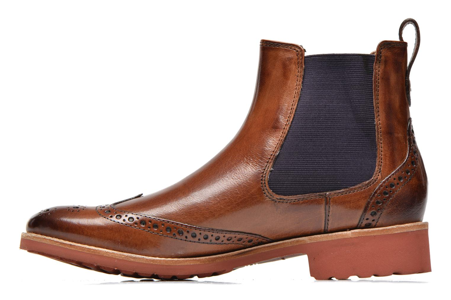 Ankle boots Melvin & Hamilton Amelie 5 Brown front view