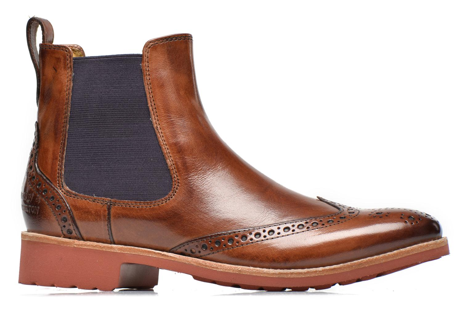 Ankle boots Melvin & Hamilton Amelie 5 Brown back view