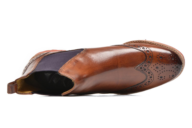 Stiefeletten & Boots Melvin & Hamilton Amelie 5 braun ansicht von links