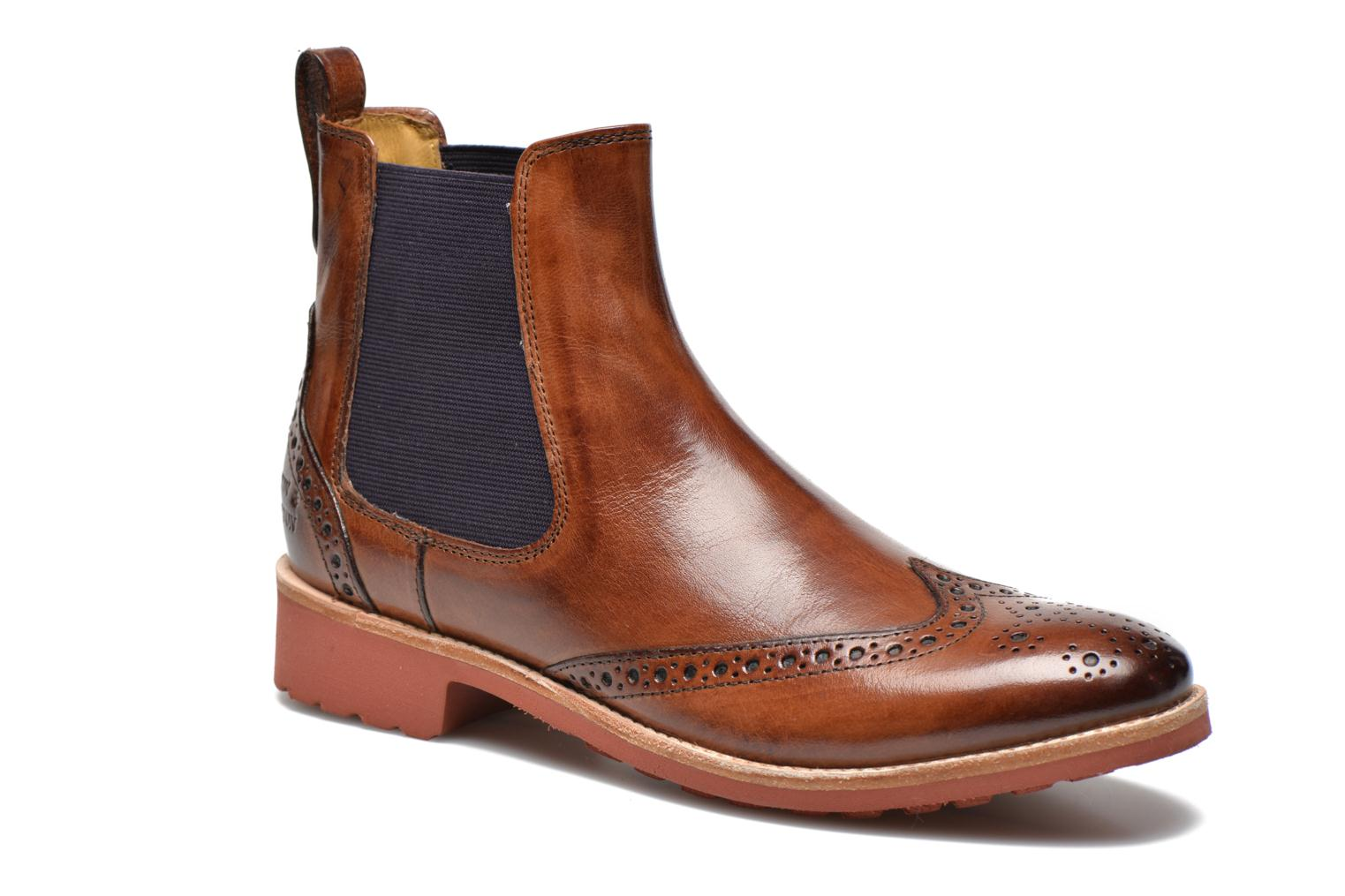 Ankle boots Melvin & Hamilton Amelie 5 Brown detailed view/ Pair view