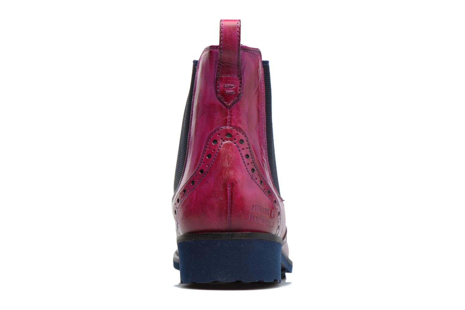 Ankle boots Melvin & Hamilton Amelie 5 Pink view from the right