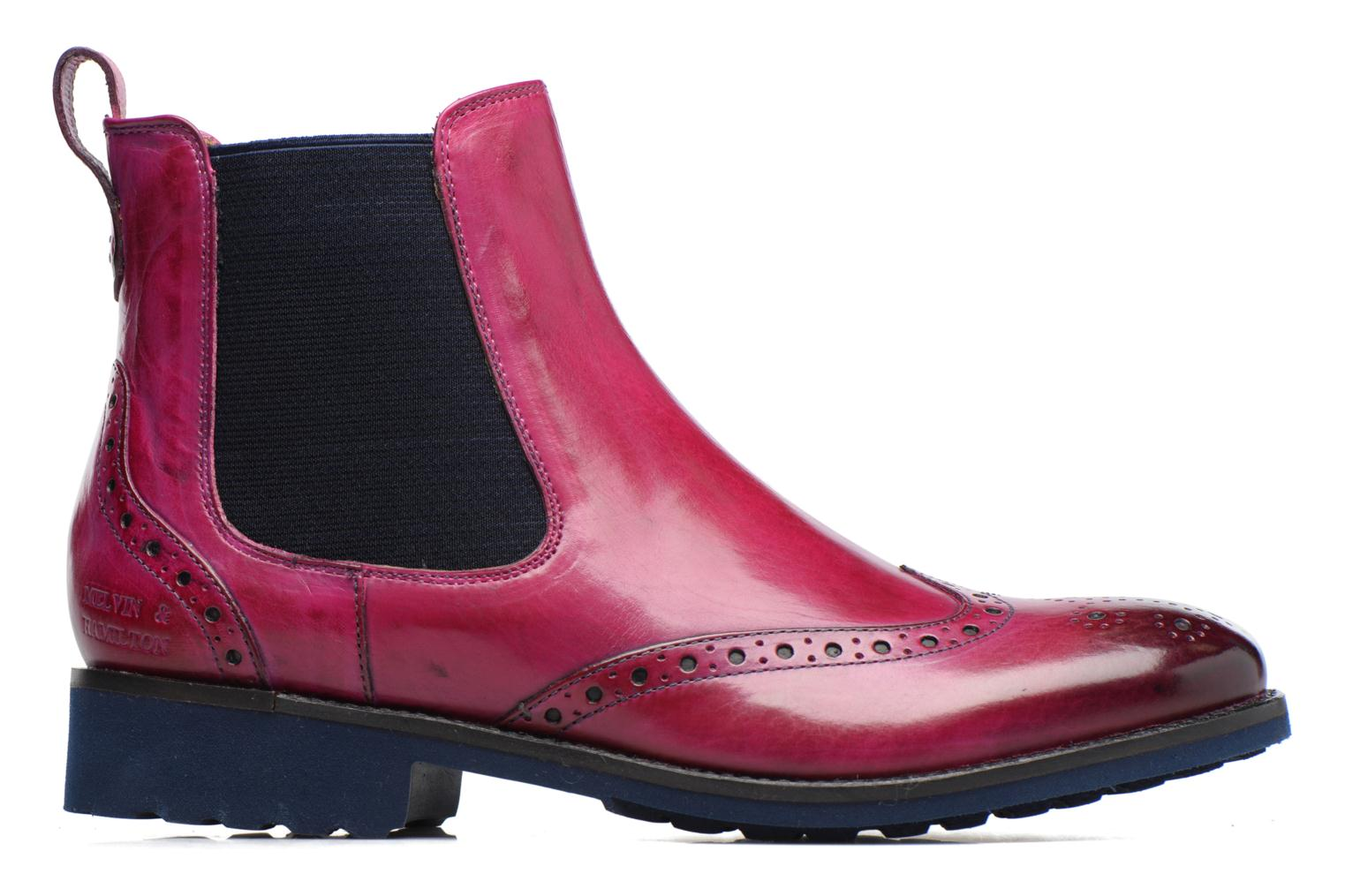 Ankle boots Melvin & Hamilton Amelie 5 Pink back view