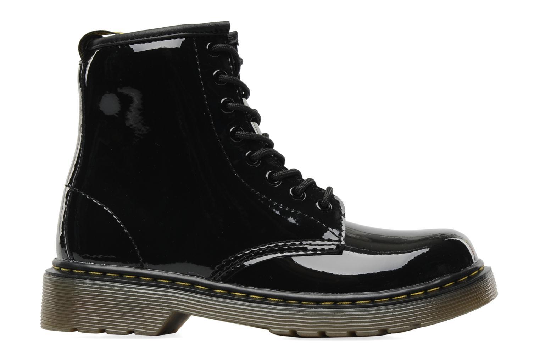 Juniors Delaney Lace boot Black Patent Lamper2