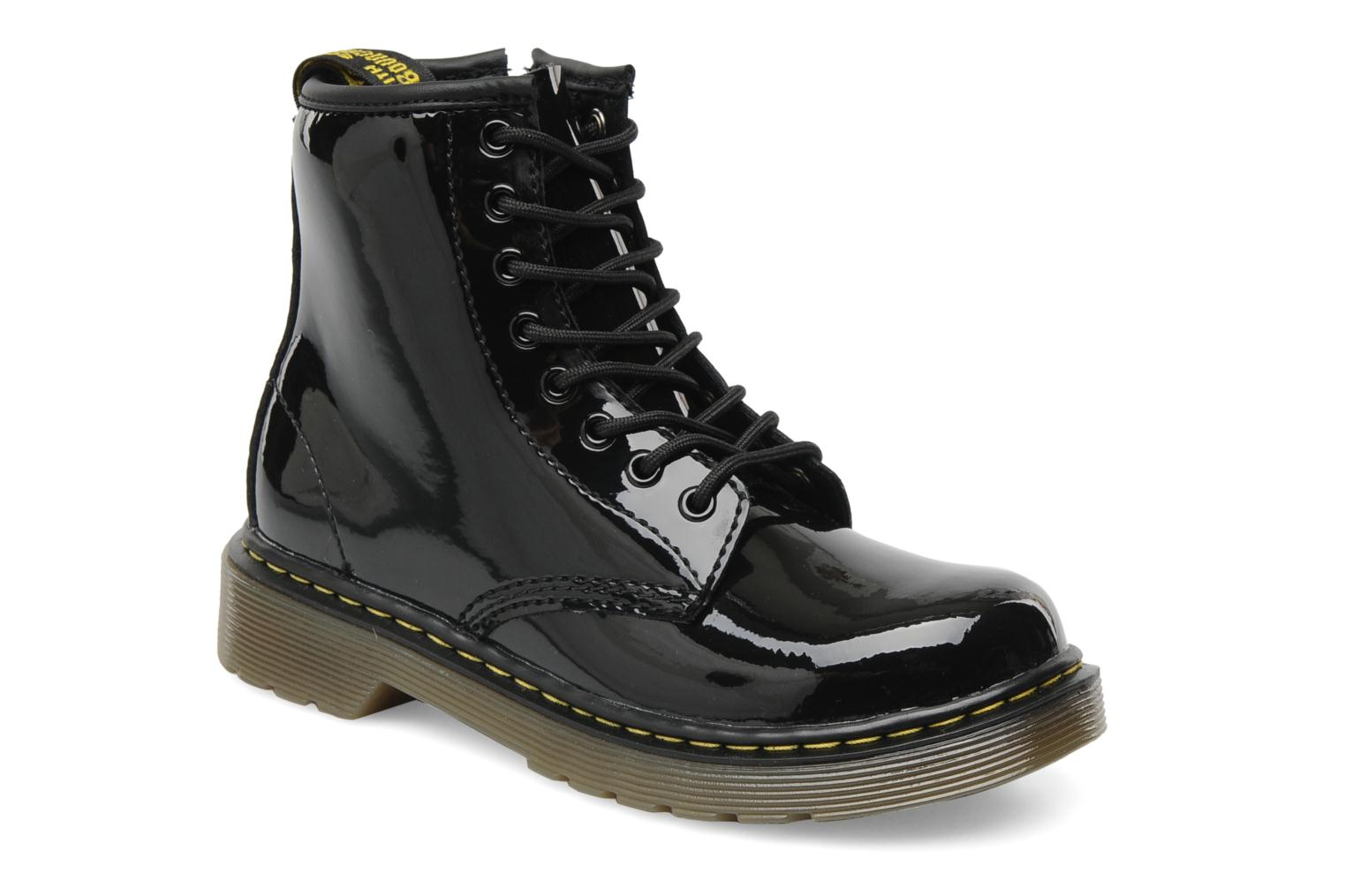 Ankle boots DR. Martens Juniors Delaney Lace boot Black detailed view/ Pair view