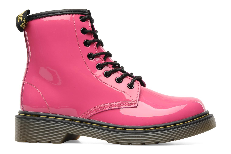 Boots en enkellaarsjes Dr. Martens Juniors Delaney Lace boot Roze achterkant