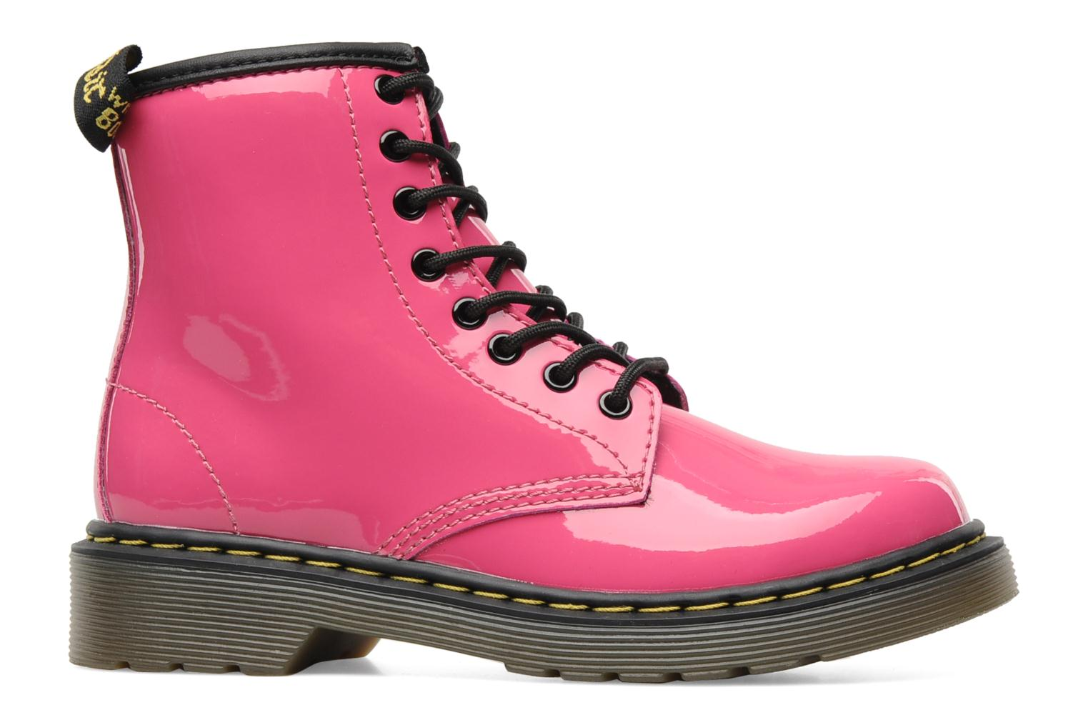Ankle boots DR. Martens Juniors Delaney Lace boot Pink back view