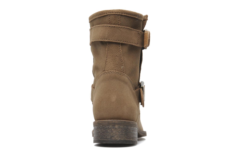 Bottines et boots Addict-Initial Chasuble Marron vue droite