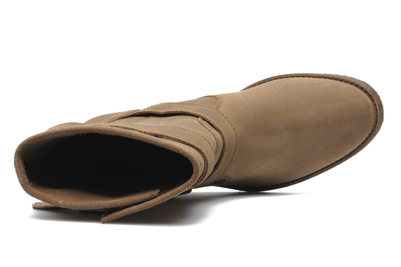 Bottines et boots Addict-Initial Chasuble Marron vue gauche