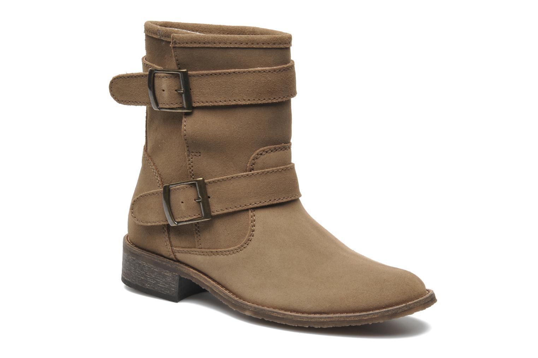 Bottines et boots Addict-Initial Chasuble Marron vue détail/paire