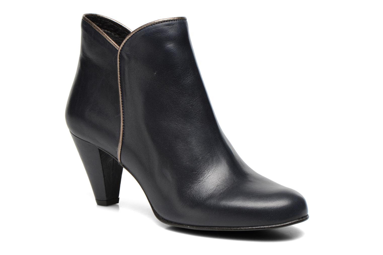 Bottines et boots Georgia Rose Lagopède Bleu vue détail/paire