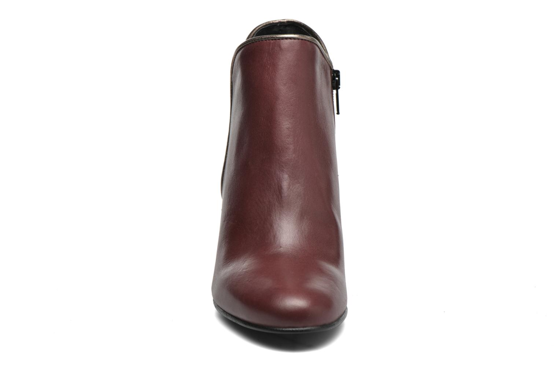 Bottines et boots Georgia Rose Lagopède Bordeaux vue portées chaussures