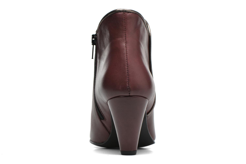 Bottines et boots Georgia Rose Lagopède Bordeaux vue droite