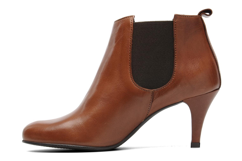 Bottines et boots Georgia Rose Leipoa Marron vue face