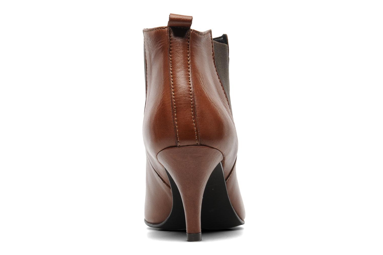 Bottines et boots Georgia Rose Leipoa Marron vue droite