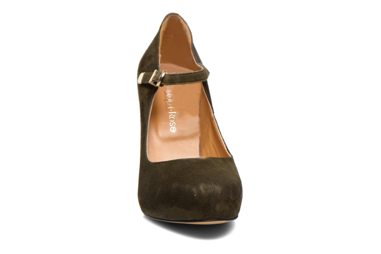 High heels Georgia Rose Benedith Green model view