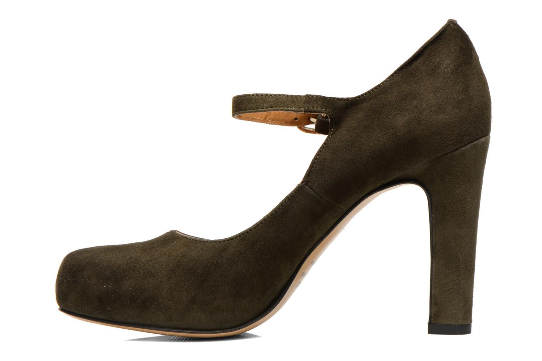 High heels Georgia Rose Benedith Green front view
