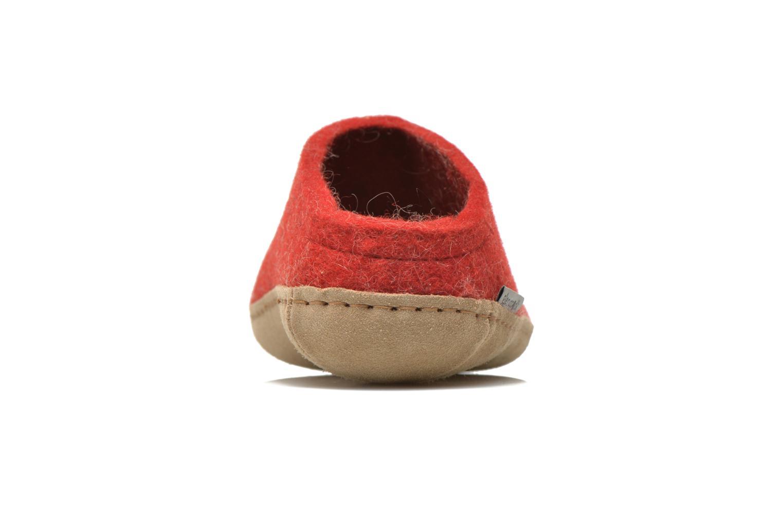 Pantoffels Glerups Piras W Rood rechts