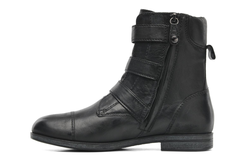 Boots en enkellaarsjes Geox D DALYA A Zwart voorkant
