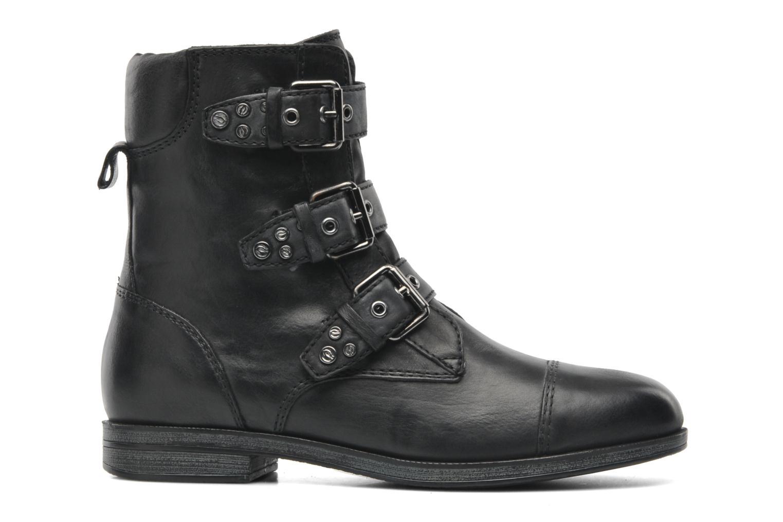 Boots en enkellaarsjes Geox D DALYA A Zwart achterkant