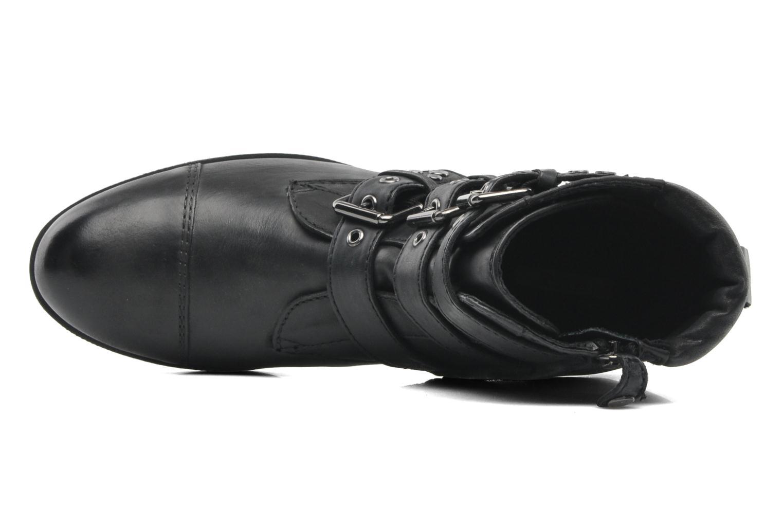Boots en enkellaarsjes Geox D DALYA A Zwart links