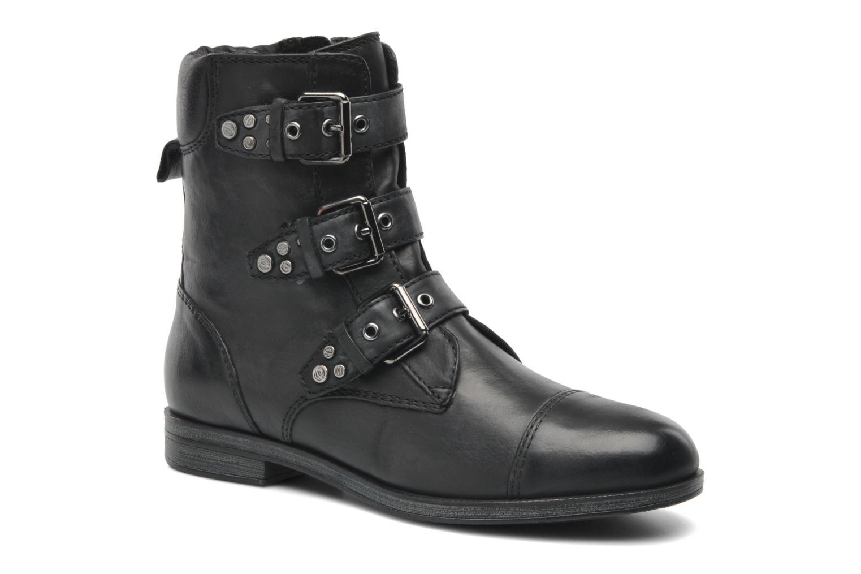 Boots en enkellaarsjes Geox D DALYA A Zwart detail