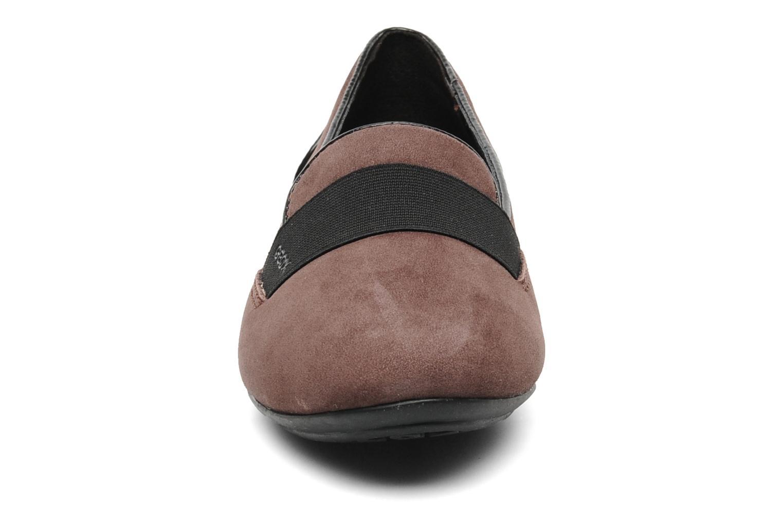 Mocassins Geox D CHARLENE J D34Y7J Marron vue portées chaussures