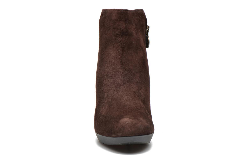 Stiefeletten & Boots Geox D INSPIRAT.ST. D34G9A braun schuhe getragen
