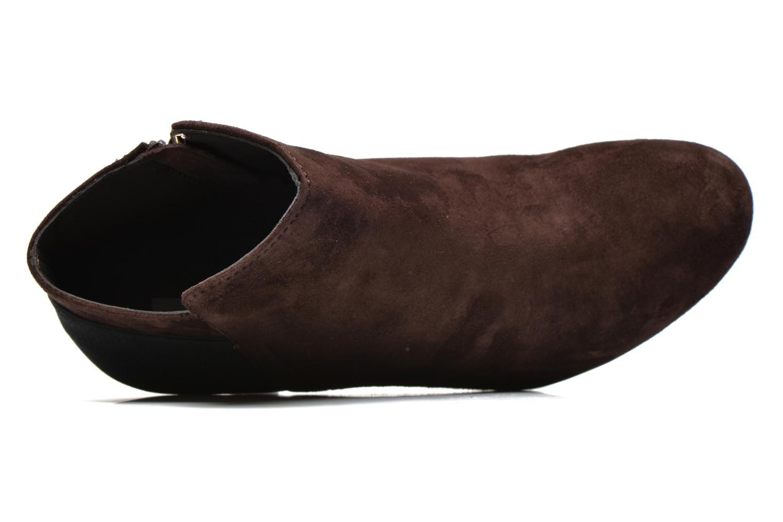 Stiefeletten & Boots Geox D INSPIRAT.ST. D34G9A braun ansicht von links