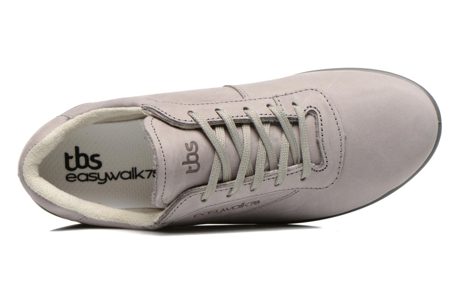 Trainers TBS Easy Walk Anyway Grey view from the left