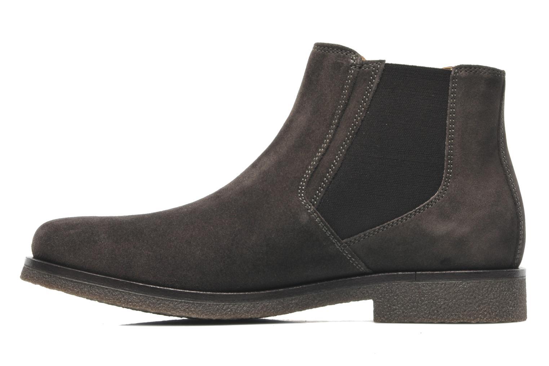 Boots en enkellaarsjes Geox U CLAUDIO G Grijs voorkant
