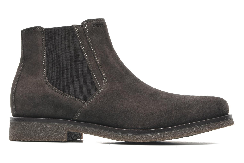 Boots en enkellaarsjes Geox U CLAUDIO G Grijs achterkant
